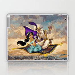 Aladdin and Jasmine Laptop & iPad Skin