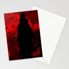 Uchiha Silhouette v3 Stationery Cards