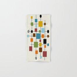 Mid-Century Modern Art 1.3 Hand & Bath Towel