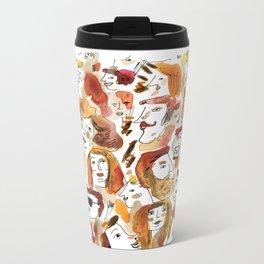 Gathering of Redheads Metal Travel Mug