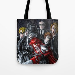 Haunted House Reapers Tote Bag