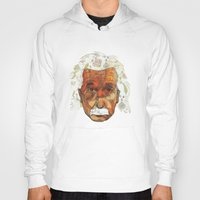 einstein Hoodies featuring Einstein by Jason Ratliff