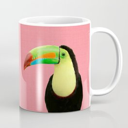 Toucan Bird - Pink Coffee Mug