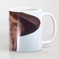 clint barton Mugs featuring Clint by Mark Hammermeister