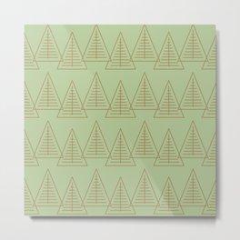 Winter Hoidays Pattern #10 Metal Print