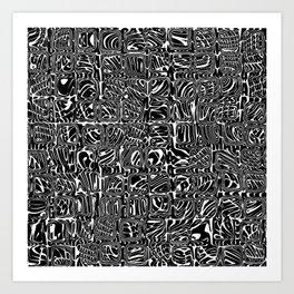 Abstract MAGA Typography Art Print