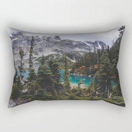 Joffre Lakes Rectangular Pillow