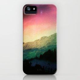 Scottish Mountains iPhone Case