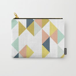 Modern Geometric Design Carry-All Pouch
