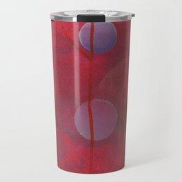reddish sphere Travel Mug