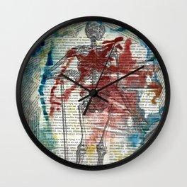Vesalius Grave digger Wall Clock