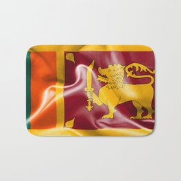 Sri Lanka Flag Bath Mat