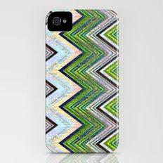 Emerald Chevron Slim Case iPhone (4, 4s)