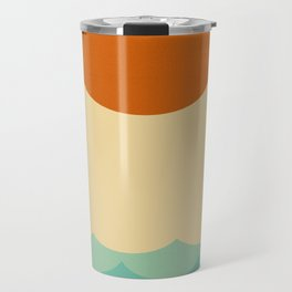 Sun and waves Travel Mug