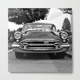 '55 Oldsmobile Metal Print