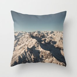 Lord Snow - Landscape Photography Throw Pillow