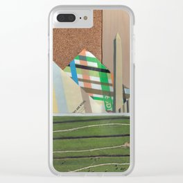 From Here to There Clear iPhone Case