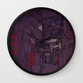 Seoul  Wall Clock