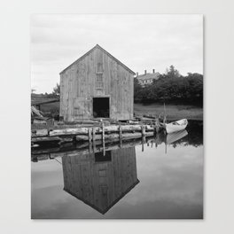 Old Fish House Canvas Print