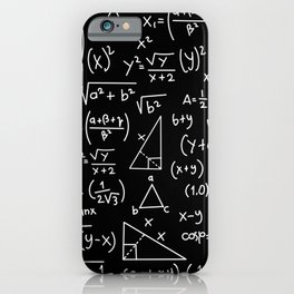 Do the Math iPhone Case