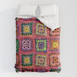Granny Squares in variety of colors Comforters