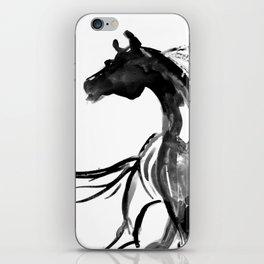 Horse (Ink sketch) iPhone Skin