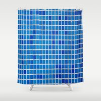 graphic design Shower Curtains featuring Graphic Design by ArtSchool