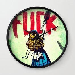 Writing Fuck Wall Clock