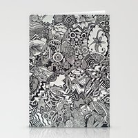 zentangle Stationery Cards featuring Zentangle by NicoleCorbelle