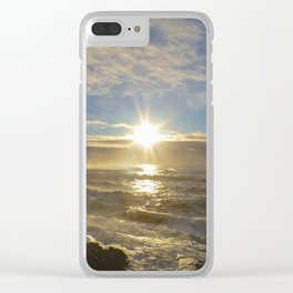 Storm Subsiding Clear iPhone Case