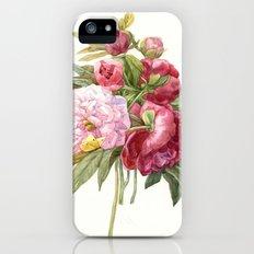 Passion peonies iPhone SE Slim Case