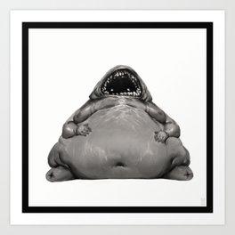 Gluttony Art Print