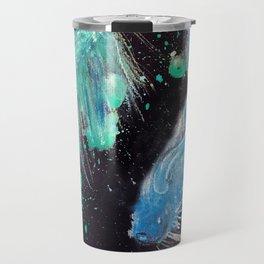 Betta Splendens Splatter Travel Mug