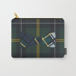 Plaid on Plaid Carry-All Pouch