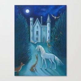 The Moonlit Gathering Canvas Print