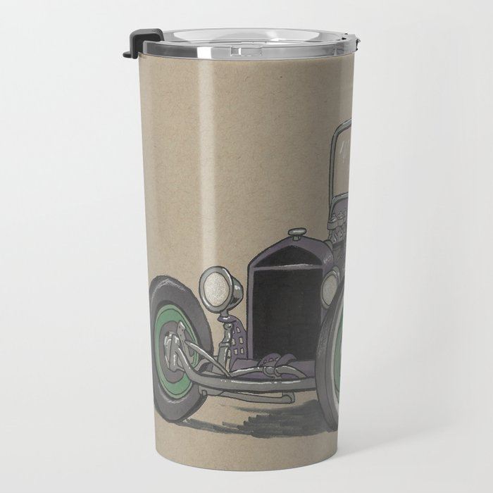 T-bucket Girl Travel Mug