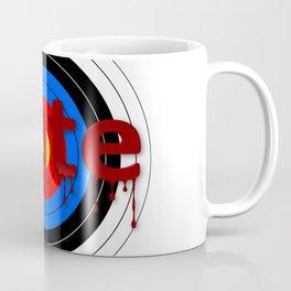 Target Bloody Hate Coffee Mug