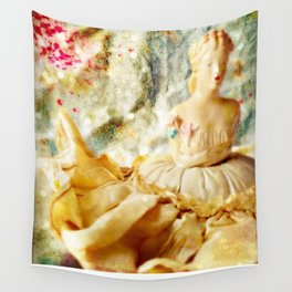 Midnight in Fairy Tales Wall Tapestry