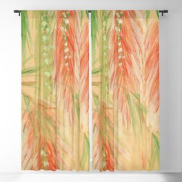 red weeping willow Blackout Curtain