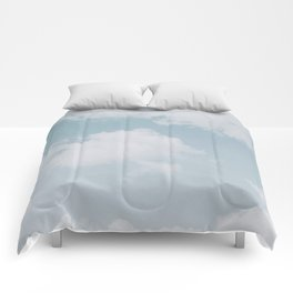 summer clouds Comforters