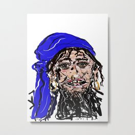 Ahoy there!! Metal Print