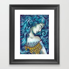 Calypso Sleeps Framed Art Print