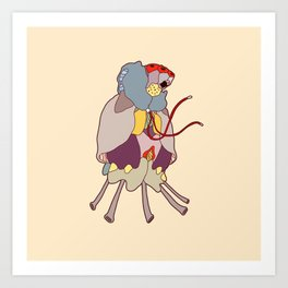itsy bitsy cooties #25 Art Print