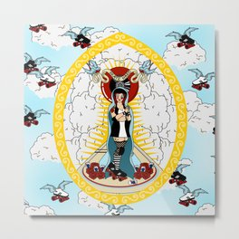 Holy Roller Derby Metal Print