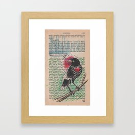 Book Page Art: You're Right Framed Art Print