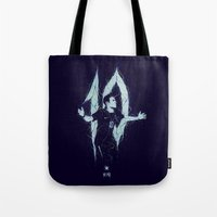 neymar Tote Bags featuring Neymar by Andres Moncayo