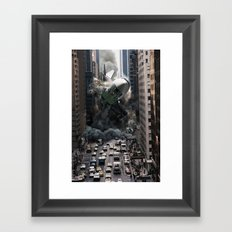 Last Flight Home  Framed Art Print