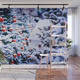 Christmas Idyll Wall Mural