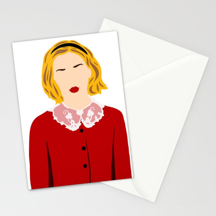 Sabrina Before Her 16th Stationery Cards