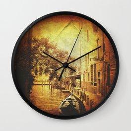 Romantic ride Wall Clock